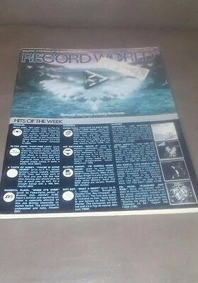 Record World Newspaper - Nov 4, 1978 - Special Section: Infinity Records