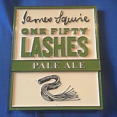 James Squires One Fifty Lashes Beer Tap Badge, Decal, Top