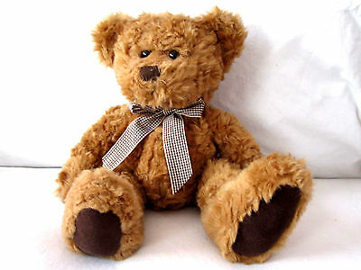 Plush Langley Bear by Russ Berrie and company 11 inches soft