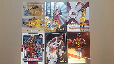 Kyrie Irving LOT 6 different inserts CARDS LOT!!! 2016 NBA champion!! RIO gold!!