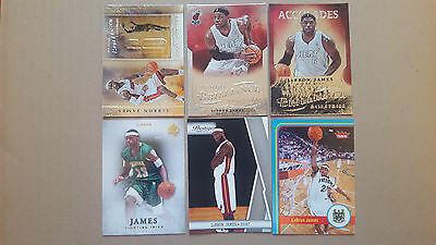 LeBron James LOT basketball cards,inserts   14 different CARDS LOT!!!