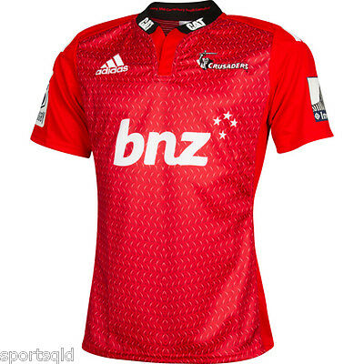 Crusaders Super Rugby Jersey NZ Size Large