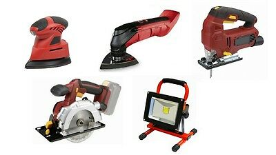 Cordless Circular Saw - Jigsaw - Multitool - Mousesander - Worklight - Free Post