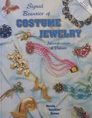 Vintage Costume Jewelry Value Guide Collector's Book Hardback Color Photos