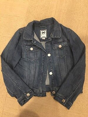 Gymboree Play By Heart Girls Medium Size 7 Size 8 Jean Jacket