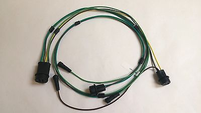 1968 Chevy Pick Up Truck Stepside Rear Body Light Wiring Harness 8' Foot Bed