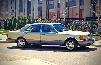 1984 Mercedes-Benz 500-Series Base Sedan 4-Door 1984 Classic, clean 500SEL W126