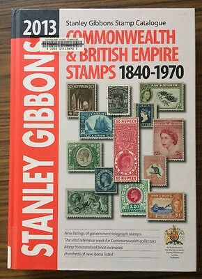 Stanley Gibbons Catalogue 2013 Commonwealth & British Empire Stamps 1840-1970