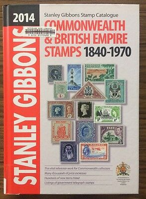 Stanley Gibbons Catalogue 2014 Commonwealth & British Empire Stamps 1840-1970