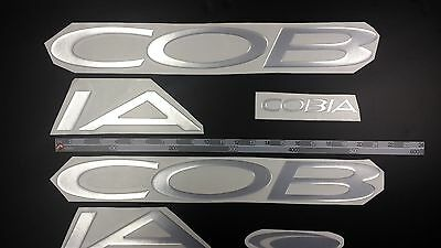 "COBIA Boats Emblem 30"" Epoxy Stickers Resistant to mechanical shocks"