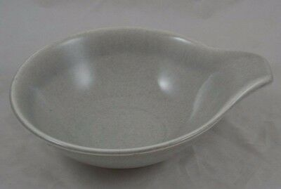Russel Wright Steubenville Granite Gray Lug Soup Bowl