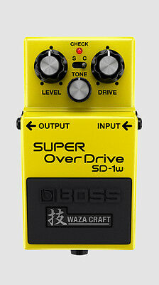 Boss WazaCraft SD-1w Super Overdrive Pedal NEW IN BOX UNUSED