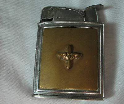 WWII Army Air Corps Evans Cigarette Lighter Air Force Prop and Wings Aviation