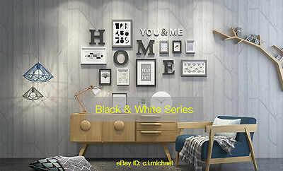 Wooden Photo Collage Frames Set 9PCs Wall Art Decoration for Modern Home Office