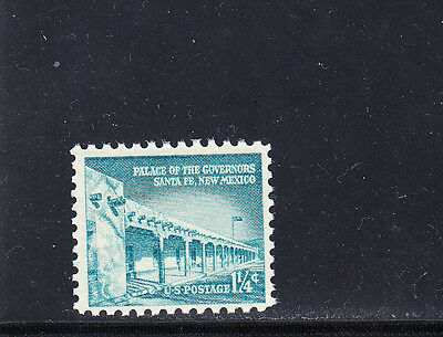 US Scott #1031A Palace of the Governors Stamp, MNH