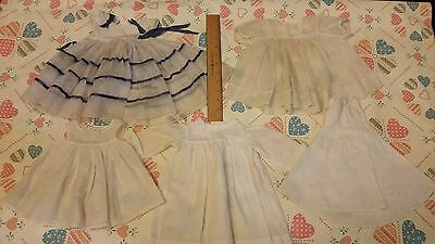 Antique Vintage Doll Clothes / Dress Lot of 5