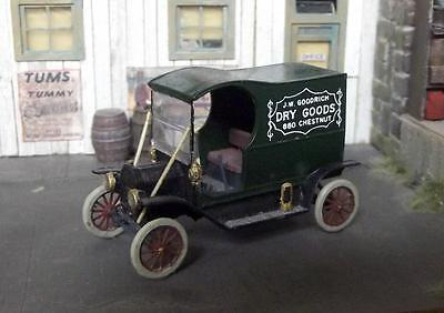 Ho Scale 1911 Ford Delivery Van Built From Jordan Kit