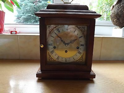 COMITTI 8 Day MANTLE CLOCK    with Westminster chimes in Mahogany case