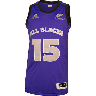 All Blacks Men's NBA Basketball Singlet Night Flash