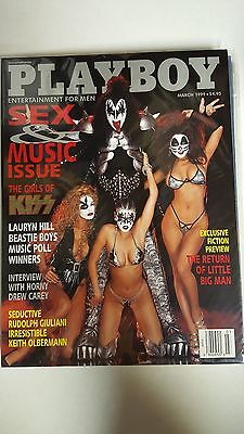 Playboy Magazine: The Girls of Kiss, Sex and Music Issue