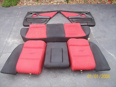 Holden  Commoder Vy Ss Rear Seat Plus 2 L/r Door Cards Vgc