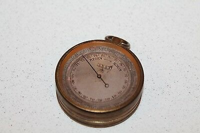 Antique French Barometer Oros