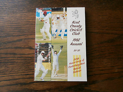 Kent County Cricket Club Annual 1992