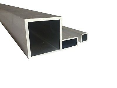 Aluminium Square Box Tube Various Sizes  2500 mm - 5000 mm LONG