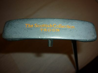 Rare Troon Putter Rh By The Scottish Collection