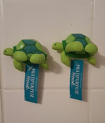 Bath and Body Works TURTLE multipurpose Hook. 2 Pack