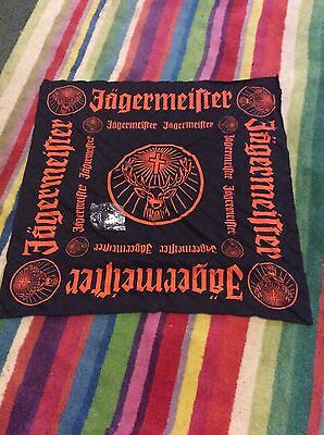Jaegermeister Large Fabric Banner/head Scarf And Bracelet