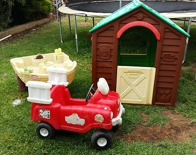 Kids Cubby House Little Tikes Ride On Car