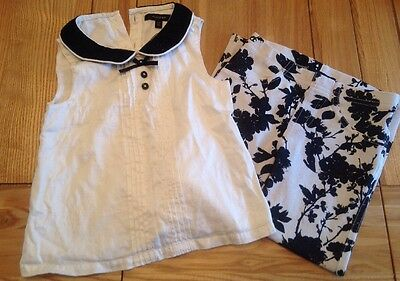 M&S Autograph Girls Outfit Age 3-4 Yrs