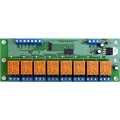 STEDO08H SPI Serial module board 8 Relays 12V for Arduino Home Automation