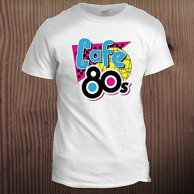 Cafe 80s Inspired Back to the Future McFly Tumblr Dad Christmas Film T Shirt
