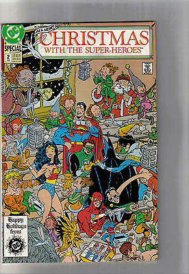 Christmas with the Super-Heroes #2 - 1989