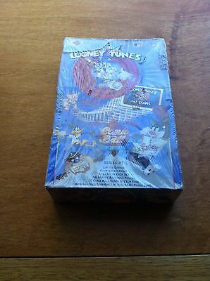 Sealed Box of Looney Tunes Comic Ball Cards