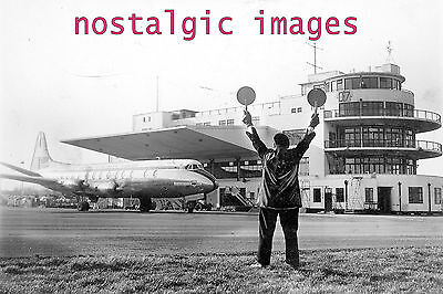Photo Taken From 1960's Image Of Birmingham Airport