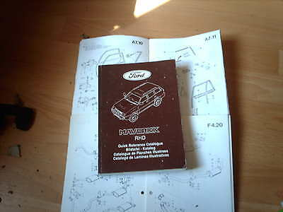 Ford Parts Catalogue Maverick RHD 2 door and 4 door