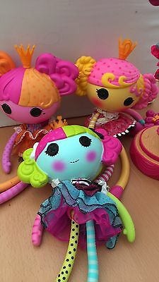 Dolls Lalaloopsy Set Of 4 One Is An Interactive Singing On Stand