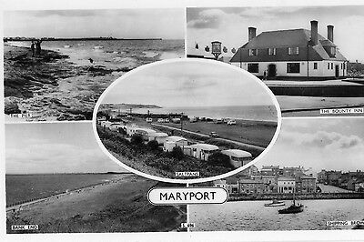 Maryport Cumberland - Multi Picture Post Card