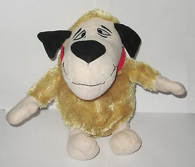 """Official Muttley Wacky Races Hanna Barbera Mutley The Dog Plush 12"""" Soft Toy"""