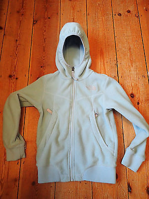 Girls North Face Hooded Fleece Jacket - Size Small (Age 8-9?)