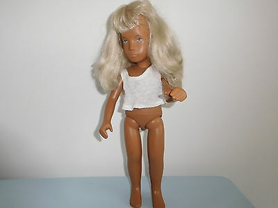 Vintage  Sasha Doll Blonde Hair Blue Eyes