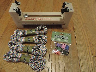 Ezzzy-Jig Bracelet Maker with clips and cord