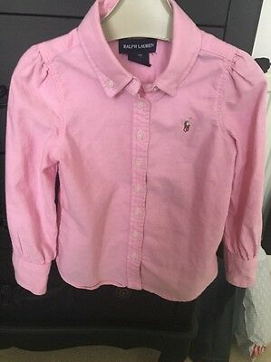 girls Ralph Lauren Shirt 3years