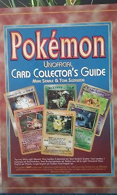 Pokemon Unofficial Card Collectors Guide, hardcover