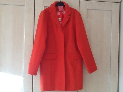 Next Girls' Age 13-14 Red Winter Coat