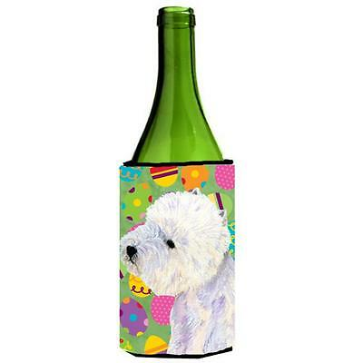 Carolines Treasures Westie Easter Eggtravaganza Wine Bottle Hugger 24 oz.