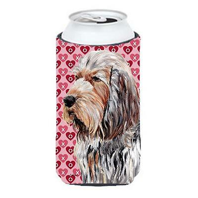 Otterhound Hearts And Love Tall Boy bottle sleeve Hugger 22 To 24 Oz.